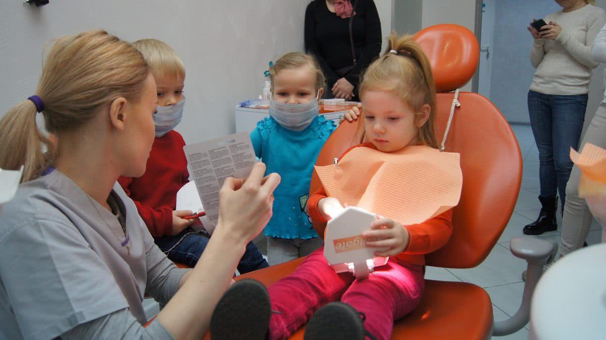 работа детского стоматолога в клинике