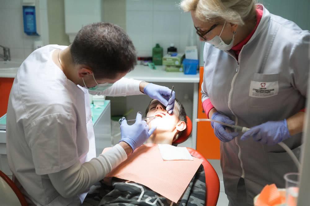 Работа стоматолога-хирурга Лойко Артём Васильевич
