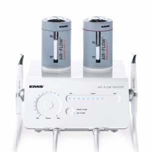 Установка для профессиональной чистки зубов EMS airflow